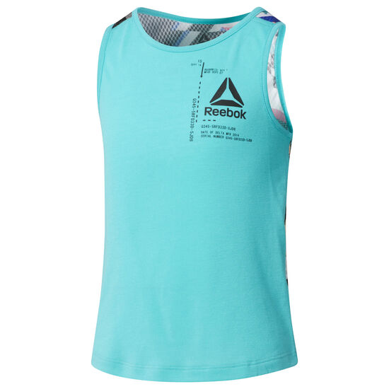 Reebok - G FTR TANK Turquoise/Solid Teal CG0334