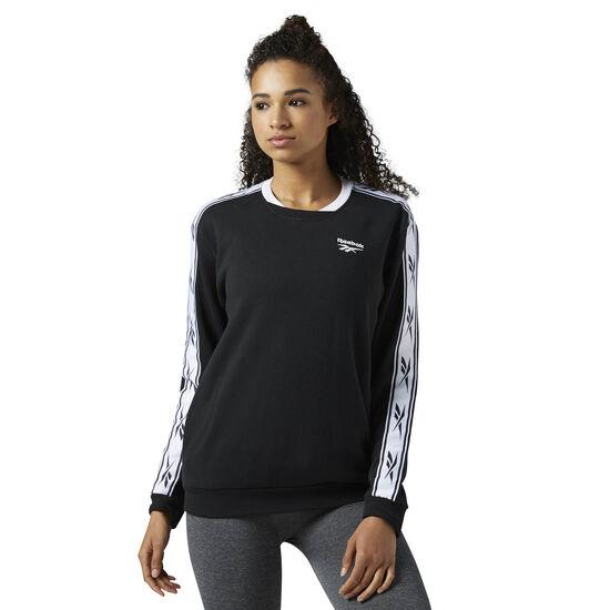 Reebok - Reebok Classics Logo crew neck Sweatshirt Black BS3679
