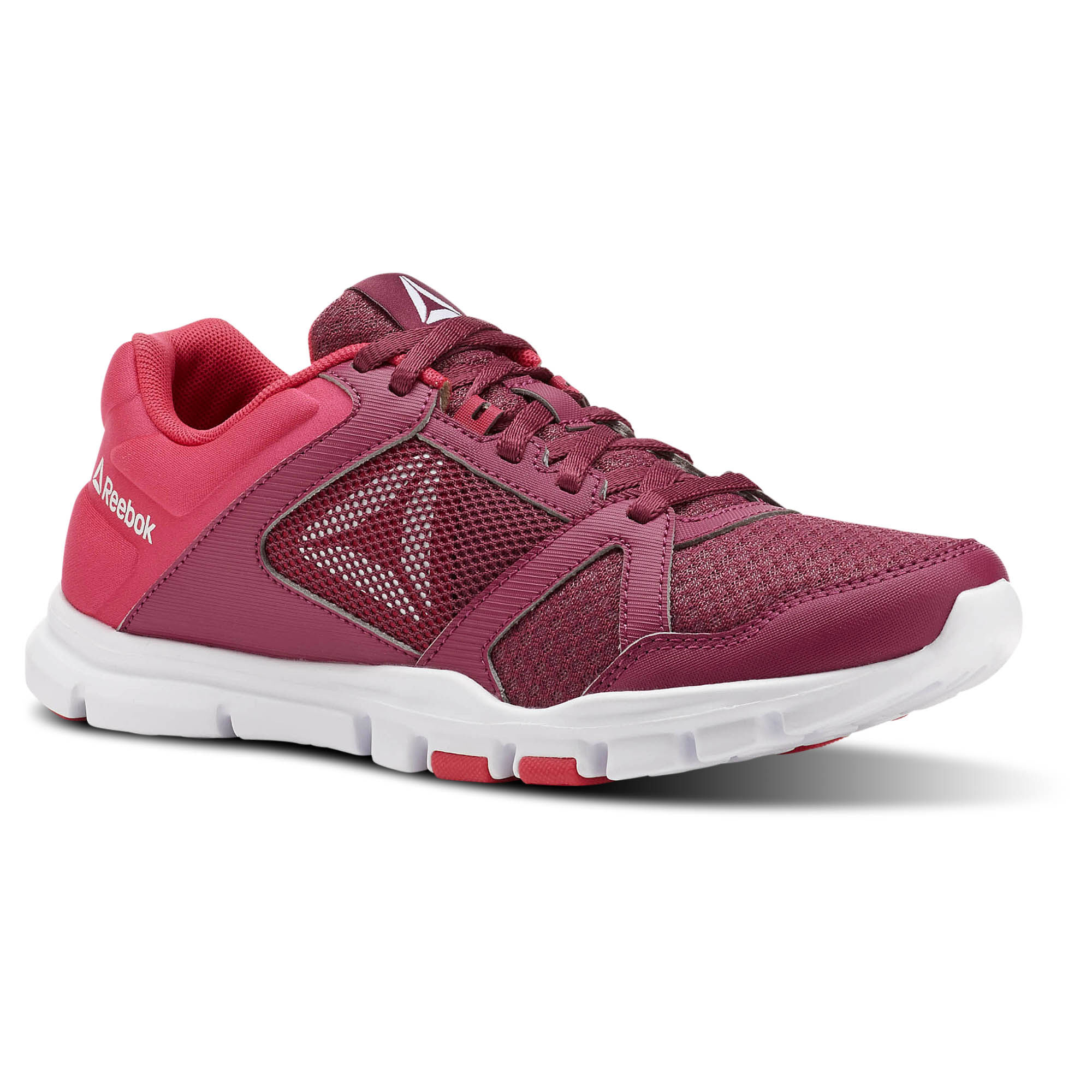 Reebok YOURFLEX TRAINETTE 10 MT - Sports shoes - Twisted Berry/Twisted Pink