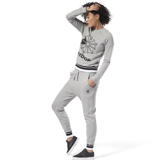 Reebok - Classics French Terry Pants Medium Grey Heather DH1409