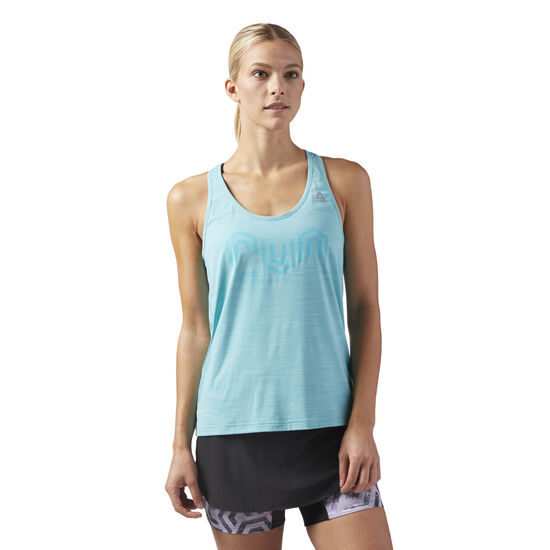 Reebok - ACTIVCHILL Cooling Tank Top Turquoise CD5472