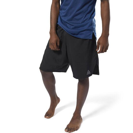 Reebok - Combat Boxing Shorts Black D96021