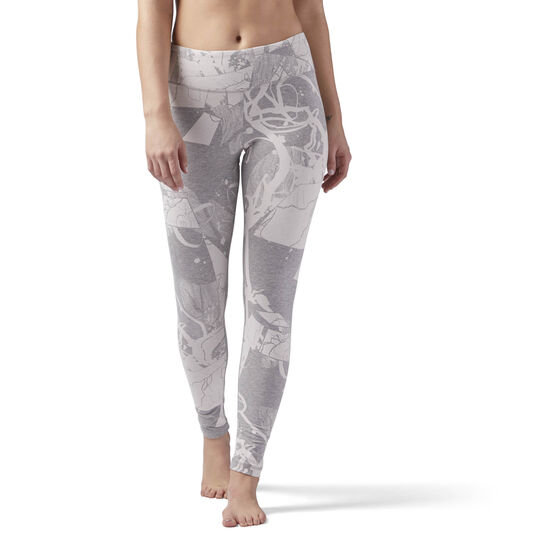 Reebok - Reebok Training Essentials Legging Medium Grey Heather CF8600