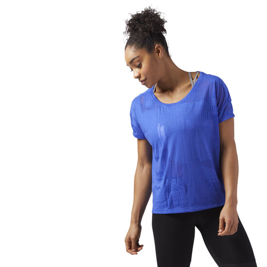 Reebok - Speedwick Women's T-Shirt Acid Blue CF5883