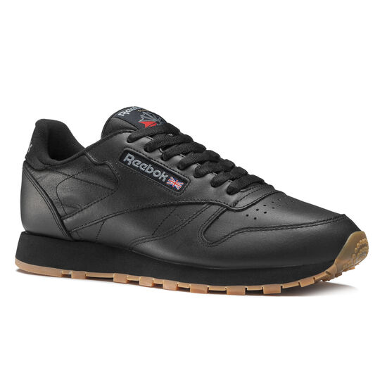 Reebok - Classic Leather Intense Black/Gum 49800