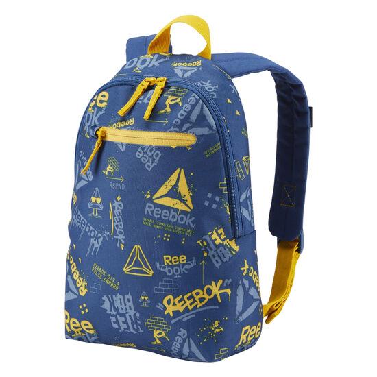 Reebok - Kids Unisex Small Graphic Backpack 2 Bunker Blue DA1239