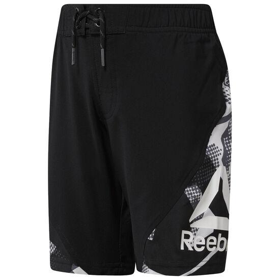 Reebok - Boy's Workout Ready Woven Shorts Black CG0287