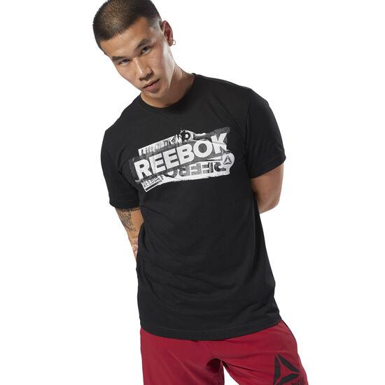 Reebok - GS Reebok Decal Tee Black DH3775