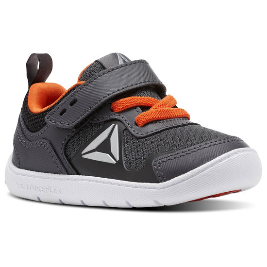 Reebok - Ventureflex Stride 5.0 Ash Grey/Black/Bright Lava/White CM9155