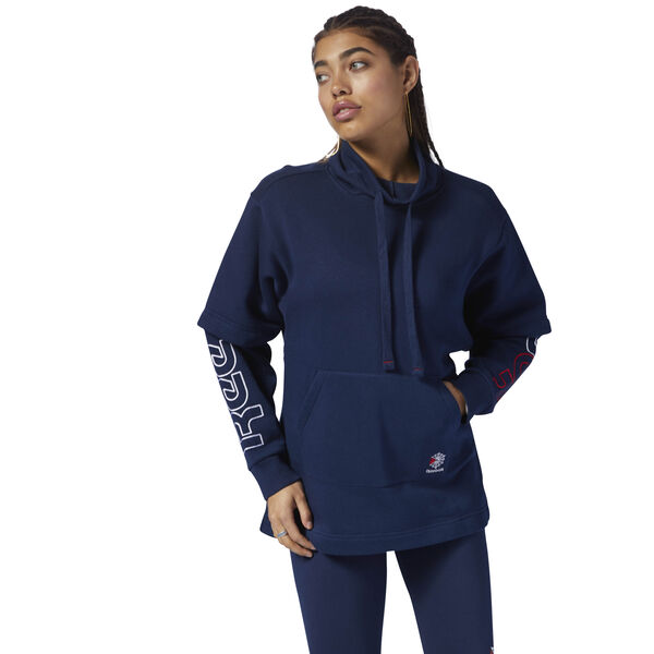 Classics Oversized Hoodie Blue DH1338