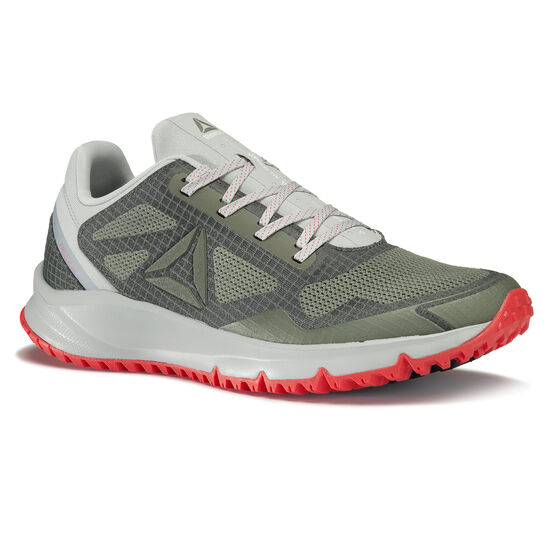 Reebok - All Terrain Freedom EX Green/Cloud Grey/Iron Stone/Dayglow Red/Metallic Grey BS9946