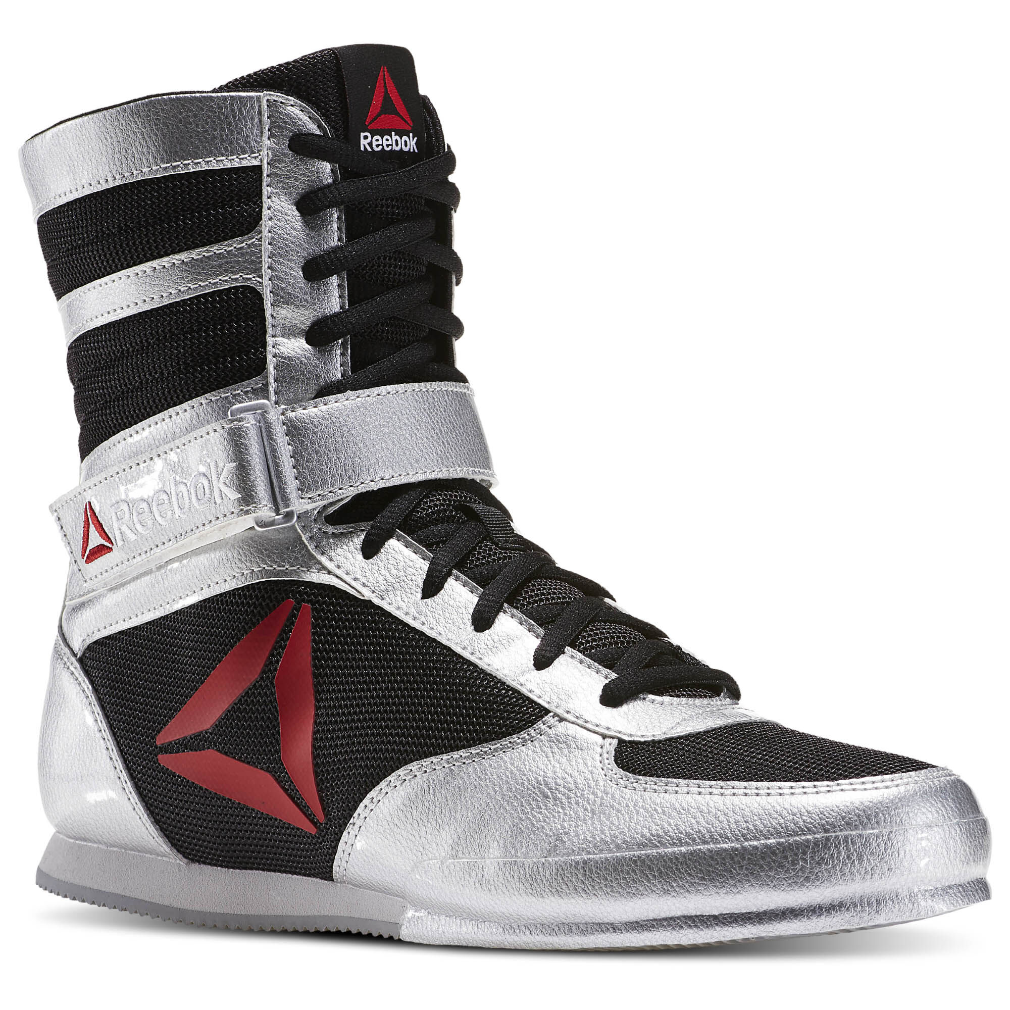 Reebok BOXING BOOT BUCK - Sports shoes - white/excellent red iqCWm7Kg