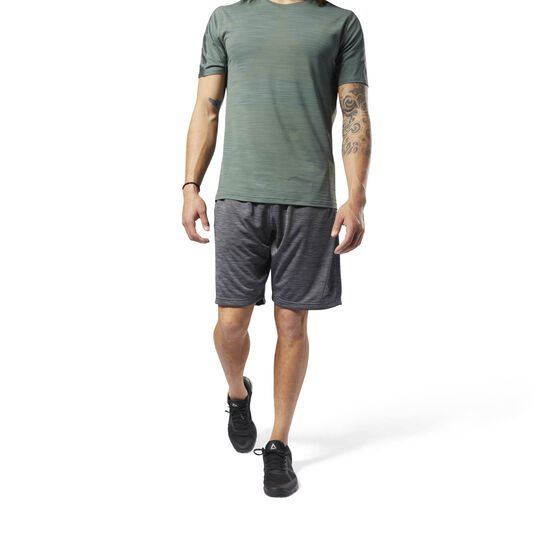 Reebok - Workout Ready Knitted Shorts Dark Grey Heather CY3614
