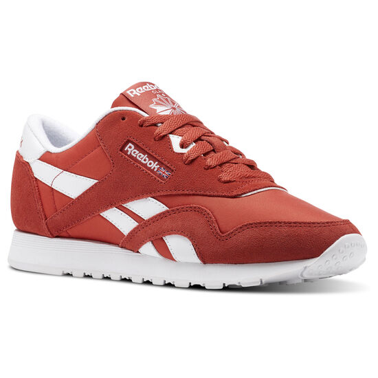 Reebok - Classic Nylon Neutrals Red/Clay Tint/White BS9377