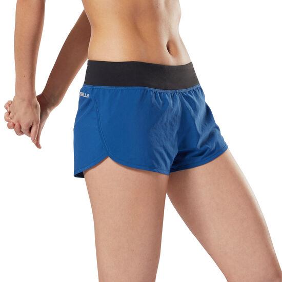 Reebok - LES MILLS™ 5 cms Woven Shorts Bunker Blue DJ2190