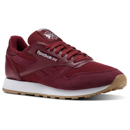 Reebok - Classic Leather ESTL Urban Maroon/White BS9720