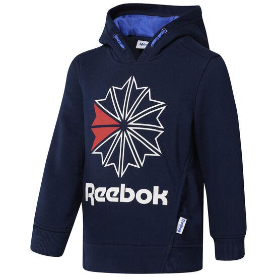 Reebok - Reebok Classics Logo Hoodie Collegiate Navy/Acid Blue CG0322