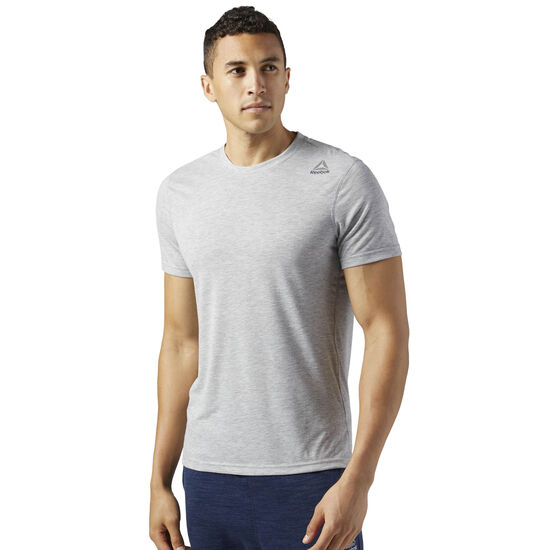 Reebok - Workout Ready Supremium 2.0 Tee Medium Grey Heather CE8163