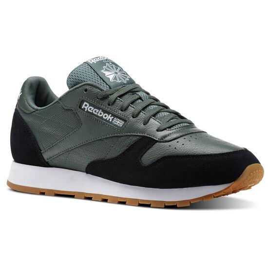 Reebok - Classic Leather GI Chalk Green/Black/White-Gum BS9746