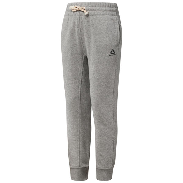 Girl's French Terry Sweatpants Grey CF4295