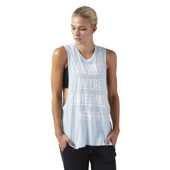 Reebok - Training Supply Muscle Tank Blue Lagoon CF8616