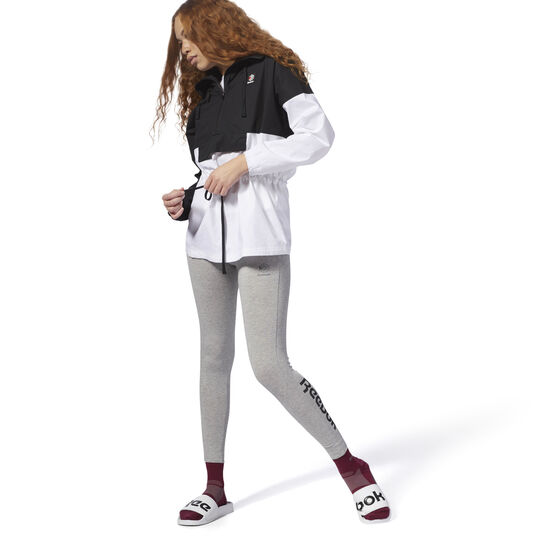Reebok - Essential Jersey Leggings Medium Grey Heather / Black DH1366