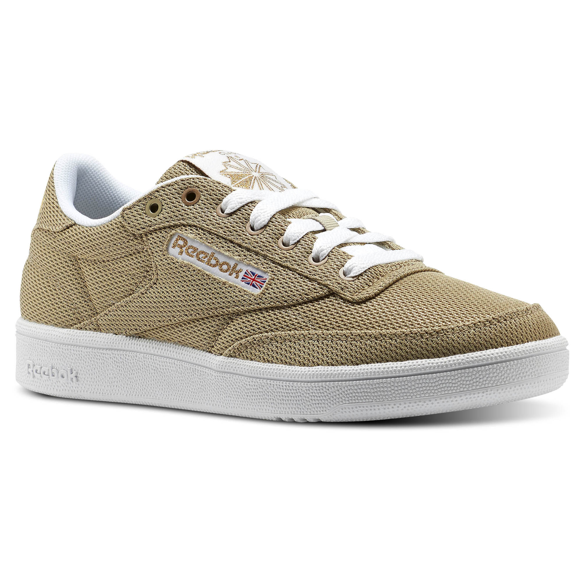 Womens Club C 85 Metallic Mesh Low-Top Sneakers Reebok ABIPtOf8