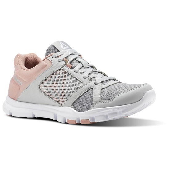 Reebok - Yourflex Trainette 10 MT Skull Grey/Chalk Pink/White CN1251
