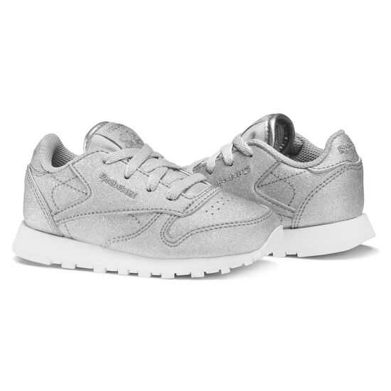 Reebok - Classic Leather SYN Silver Metallic/Snow Grey/White BS7583