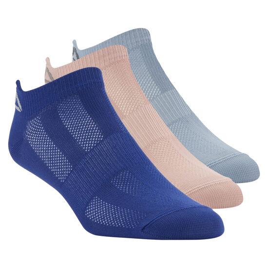 Reebok - Reebok ONE Series Socks - 3pack Deep Cobalt/Rain Cloud/Chalk Pink CV6902
