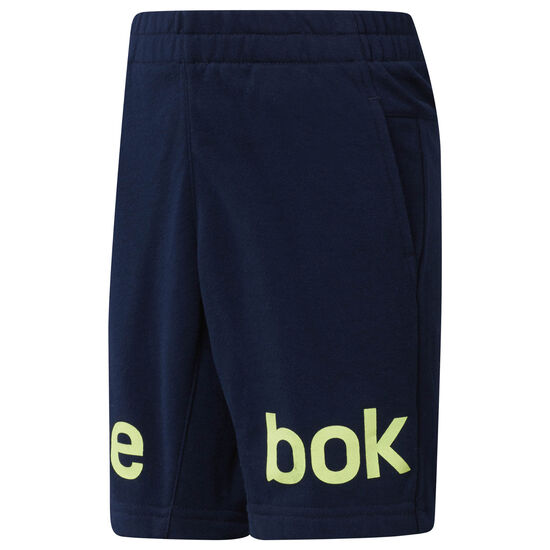 Reebok - Boy's Workout Ready French Terry Shorts Collegiate Navy CF4282