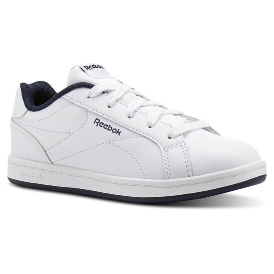 Reebok - Reebok Royal Complete Clean White/Collegiate Navy- No Texture Toe CN1719