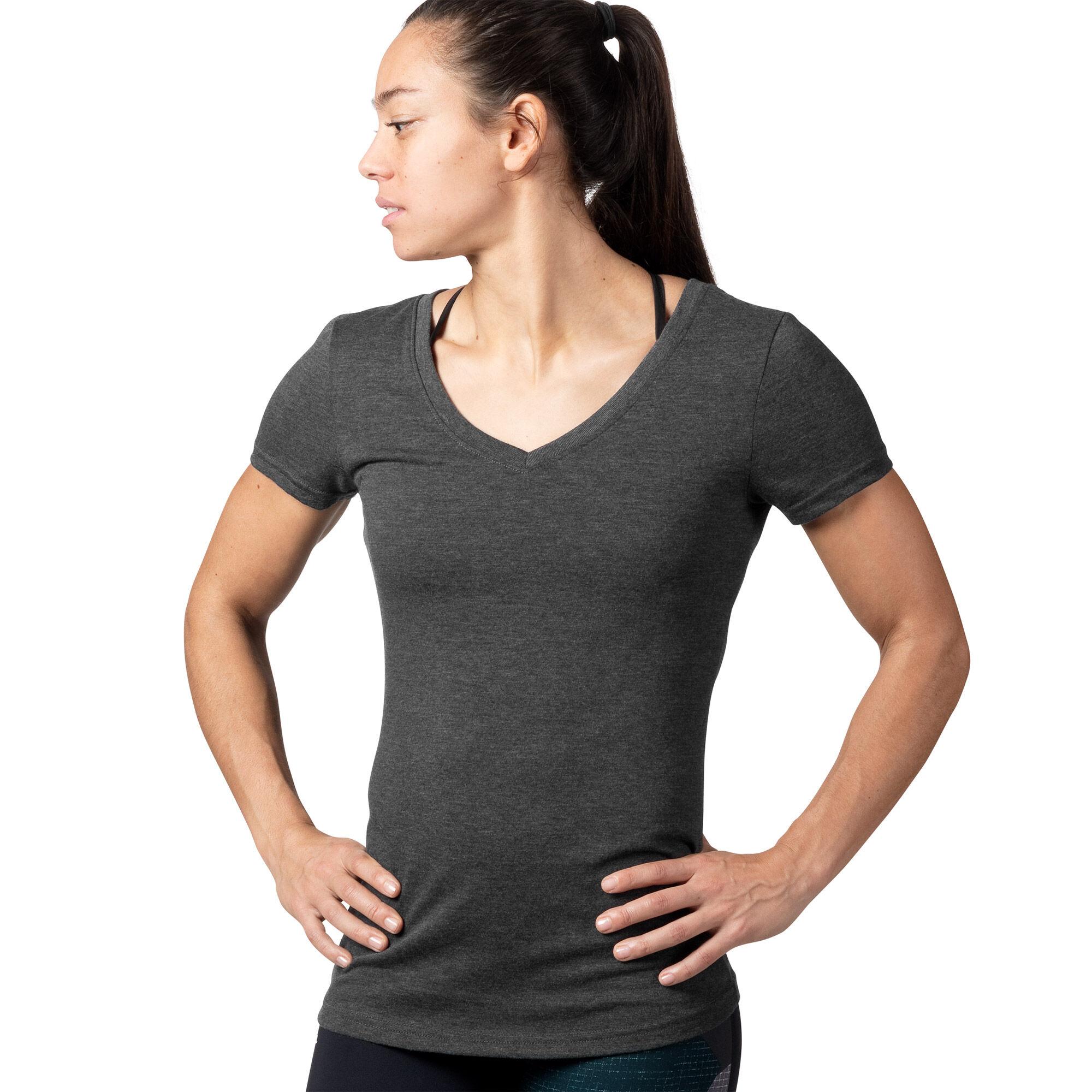 Reebok - Reebok V-Neck T-Shirt Black AJ8013