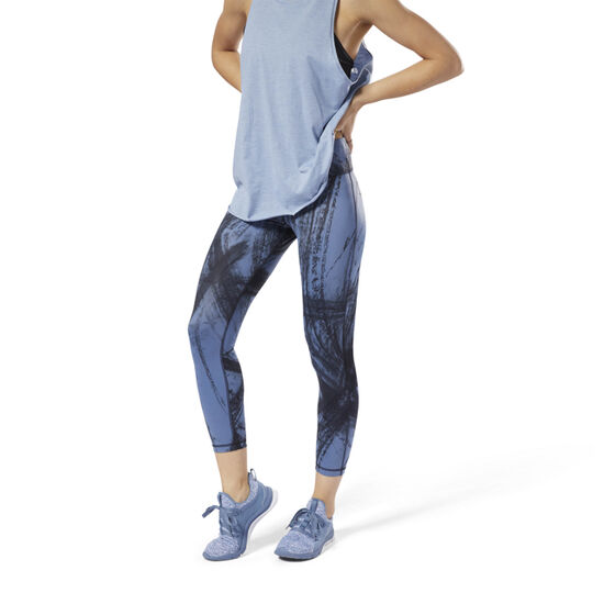 Reebok - Lux Bold 7/8 Tights - Chalked Movement Blue Slate DM7733