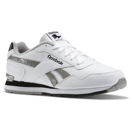 Reebok - Reebok Royal Glide S Clip White/Carbon/Black/Steel AQ9165