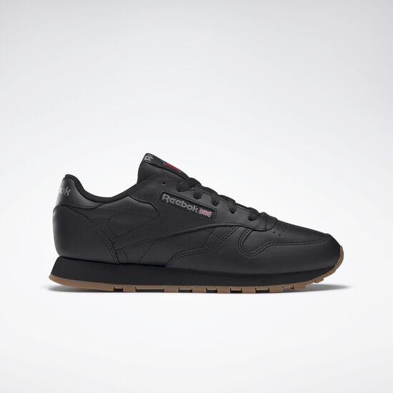 Reebok - Classic Leather Intense Black/Gum 49804