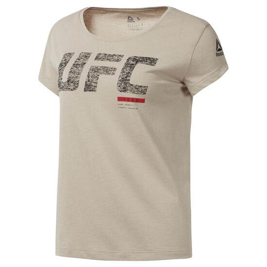 Reebok - UFC Fight Week Tee Parchment D94705