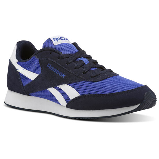 Reebok - Reebok Royal Classic Jogger 2 Collegiate Navy/Acid Blue/White CN0459