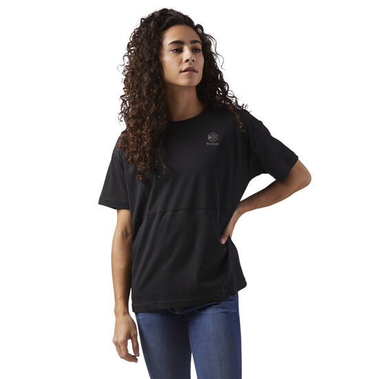 Reebok - Layering T-Shirt Black CD8210