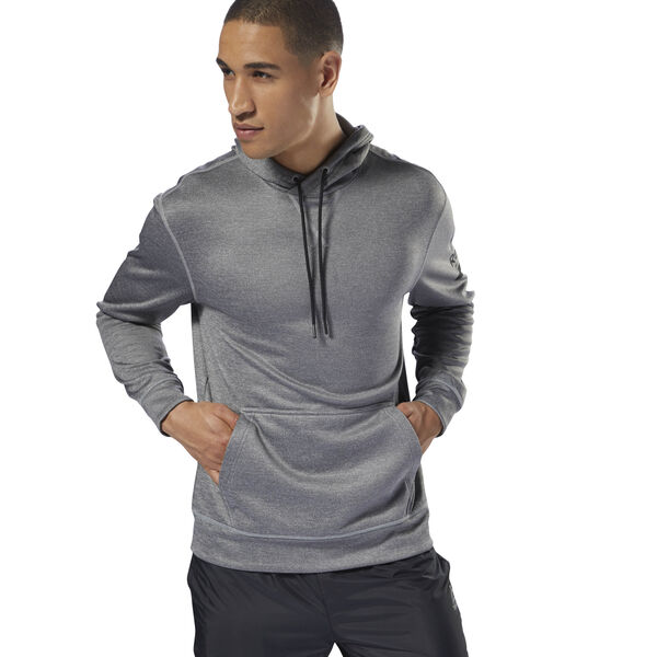 Workout Ready Poly Fleece Hoodie Grey D94226