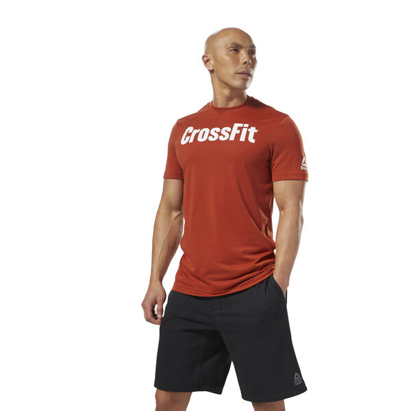 Reebok CrossFit Speedwick F.E.F. Graphic Tee Brown DH3707