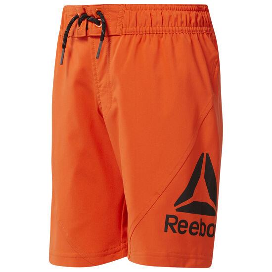 Reebok - Boy's Workout Ready Boardshorts Orange/Bright Lava CG0272