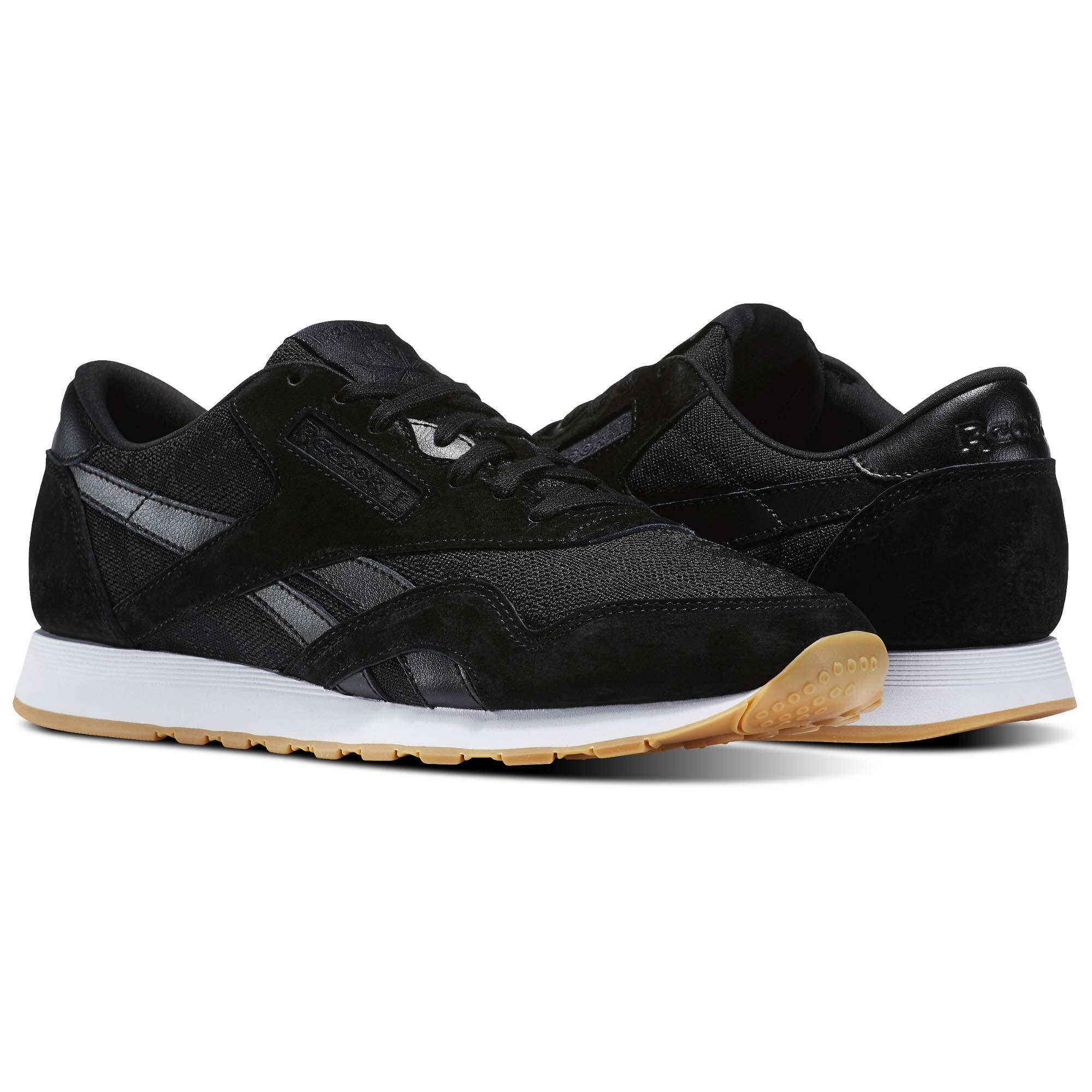 Reebok Sport Chaussures CL Nylon HS Blackwhite Reebok Sport ynr0q5