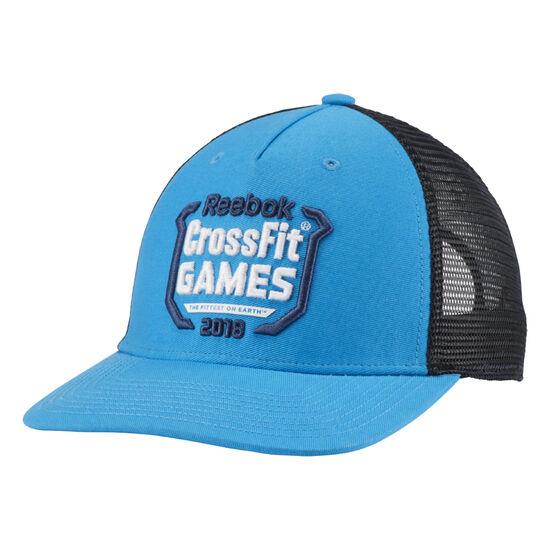 Reebok - Reebok CrossFit Trucker Cap - Games Mendota Blue/Black DN1519