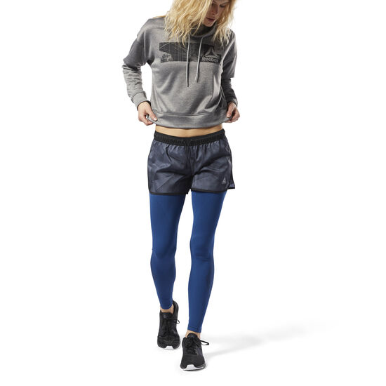 Reebok - Printed Woven Shorts Black CY3647