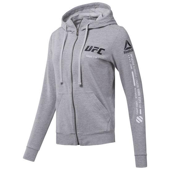 Reebok - UFC Zip Hoodie Medium Grey Heather CG0658