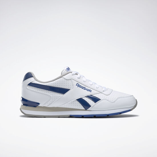 Reebok - Reebok Royal Glide S Clip White/Team Dark Royal/Carbon/Steel AQ9166