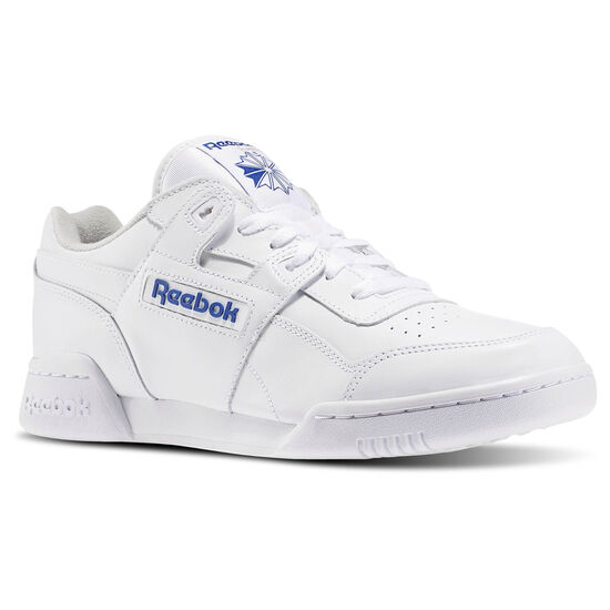Reebok - Workout Plus White/Royal 2759
