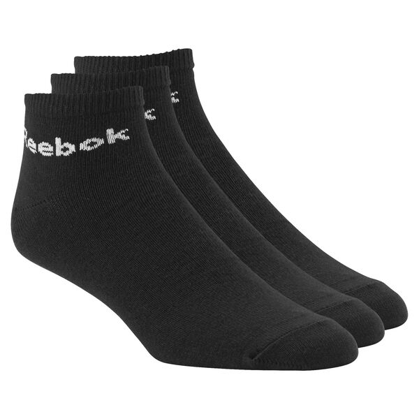 Reebok Ankle Sock - 3 pairs Black AB5274