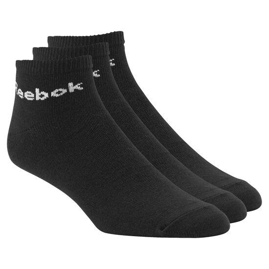 Reebok - Reebok Ankle Sock - 3 pairs Black AB5274